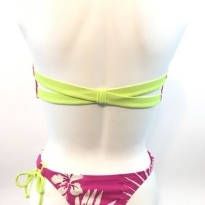 Hollister Swim - Strappy back bandeau bikini XS Hollister